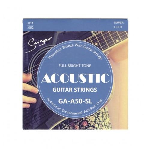 GAA50SL Akustik Gitar Teli Smiger