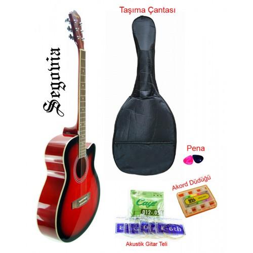 Gitar Akustik Cutaway Segovia SGA40RB