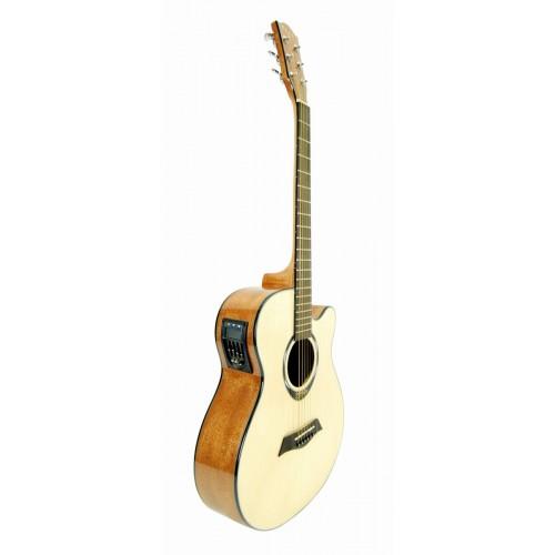 Gitar Akustik Cutaway Segovia SGA720AEQ