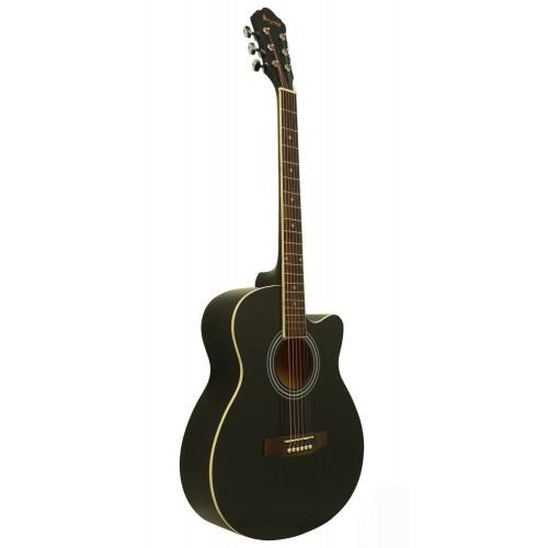 Gitar Akustik Cutaway Segovia SGA40BK