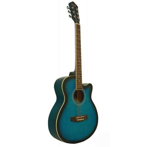 Gitar Akustik Cutaway Segovia SGA40BLS