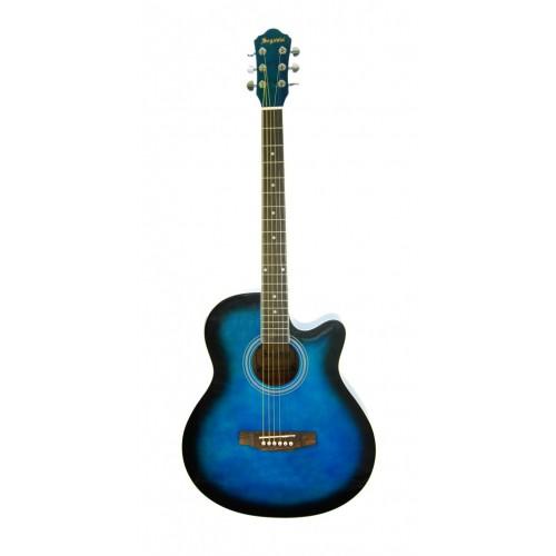 Elektro Akustik Gitar Mavi SGA40EQ4BLS