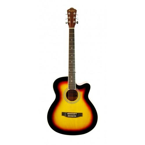 Elektro Akustik Gitar Günbatımı SGA40EQ4SB