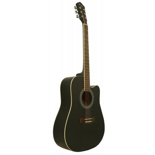 Gitar Akustik Cutaway Segovia SGA41BK