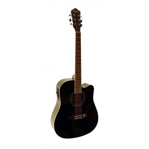 Elektro Akustik Gitar Segovia SGA41EQ4BK