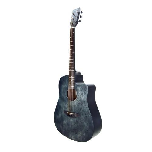 Akustik Gitar Segovıa Otantik Siyah SGA41SL