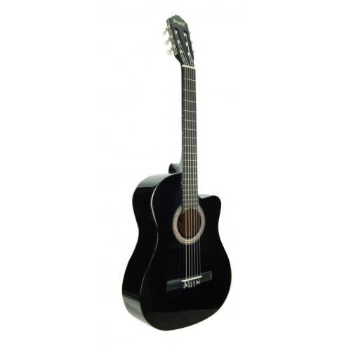 Gitar Klasik Segovıa Cutaway Siyah SGC1501BK