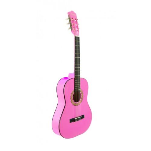 Çocuk Gitarı Klasik Pembe SGC361PNK