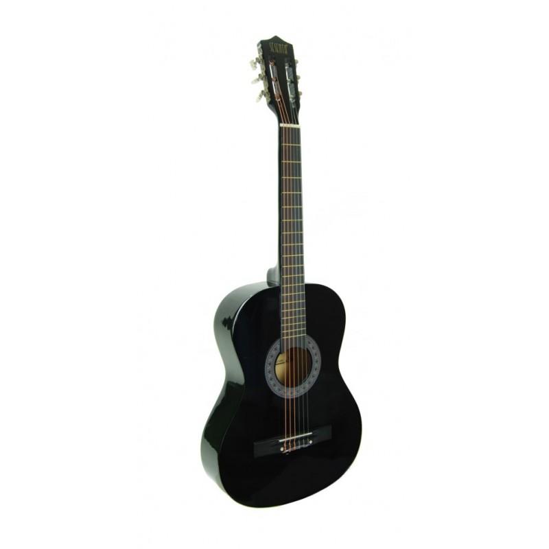 Klasik Gitar Öğrenci Siyah Sesenta SSC38BK