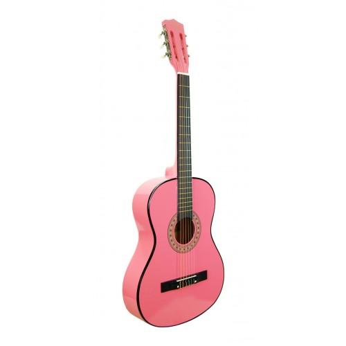 Klasik Gitar Öğrenci Pembe Sesenta SSC38PNK