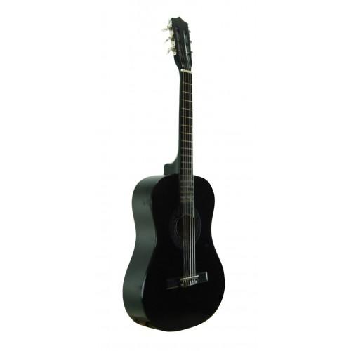 Klasik Gitar Sesenta Siyah SSC50BK Kılıf Hediyeli