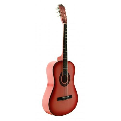 Klasik Gitar Sesenta Pembe SSC50PNK Kılıf Hediyeli