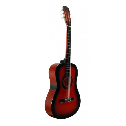 Klasik Gitar Sesenta Kırmızı SSC50RB Kılıf Hediyeli