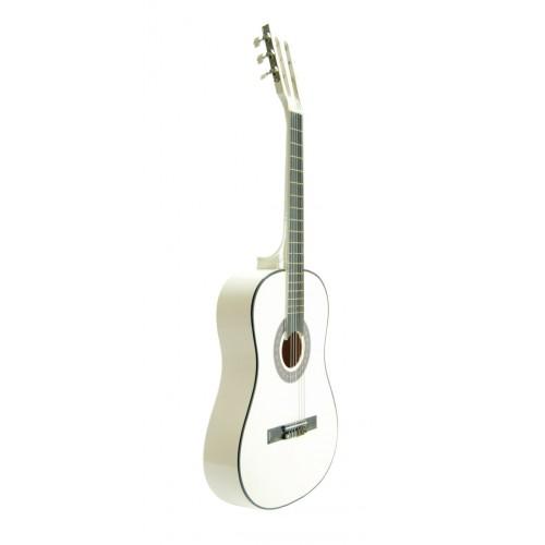 Klasik Gitar Sesenta Beyaz SSC50WH Kılıf Hediyeli
