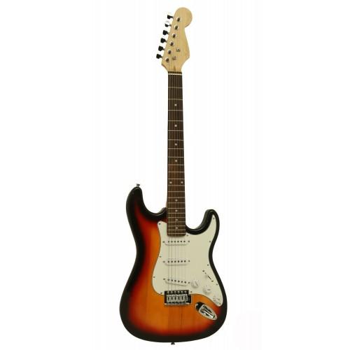 Gitar Elektro Xenon XNE3SB Stratocaster Kasa.