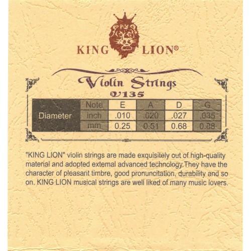 Keman Teli S135V King Lion