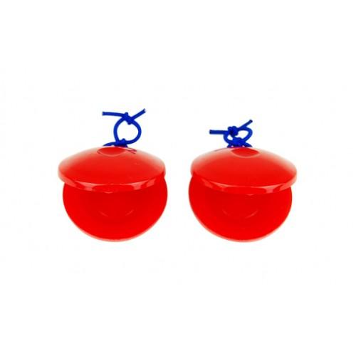 Plastik Kastanyet Kırmızı Xenon XNSWB